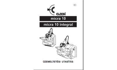 Micra10 használati utasítás és árjegyzék