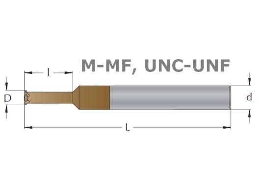 Menetmaró, egyprofilú m/MF/UNC/UNF