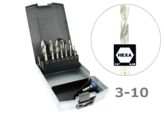 12 részes Hexa fúrókészlet