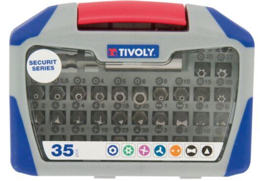 35 részes biztonsági bitkészlet