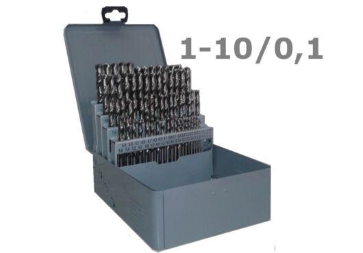 91 részes fúrókészlet 1-10/0,1 mm HSSE8